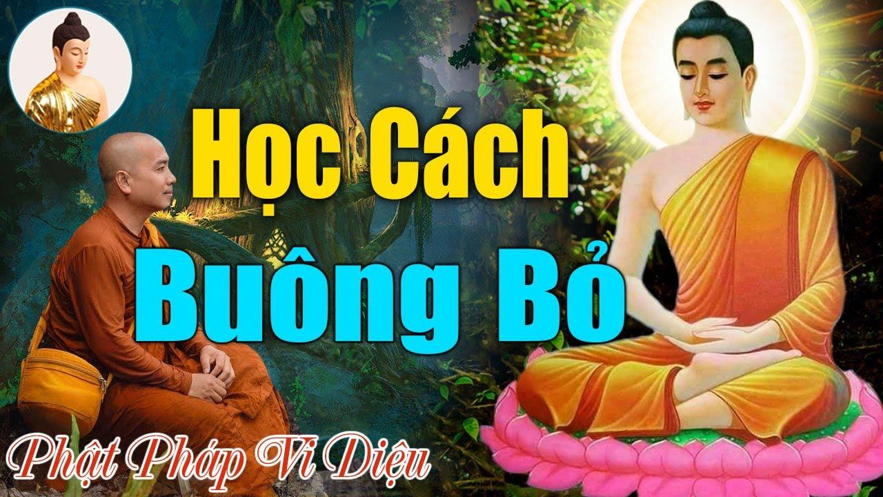 """Bỏ Ra Ít Phút""""Nghe Phật Dạy Học Cách Buông Bỏ""""Để Lòng Thanh Thản Ngủ Ngon Hơn.#Phật Pháp Vi Diệu"""