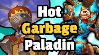 HotGarbage Mech Paladin - Metabreaker?! - Hearthstone Descent Of Dragons