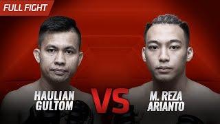 [HD] Haulian Gultom vs M  Reza Arianto || One Pride FN #35