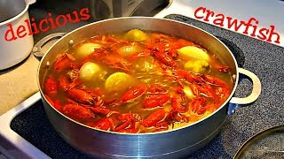 How to cook and eat crawfish
