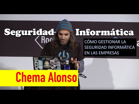 [2016]  Conferencia de Chema Alonso en Madrid Excelente