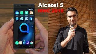 Alcatel 5 | pre review en español desde el MWC 18