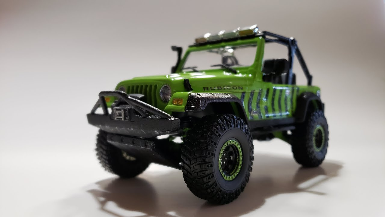 REVELL® 14053 Jeep® Wrangler Rubicon in 1:25