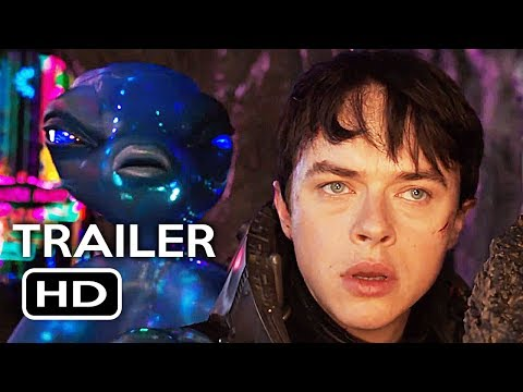 Valerian and the City of a Thousand Planets Official Trailer #3 (2017) Cara Delevingne Movie HD