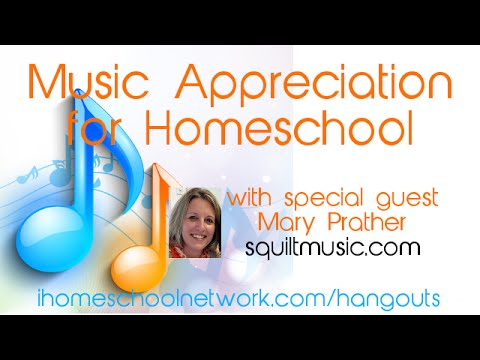 Music Appreciation for Homeschool
