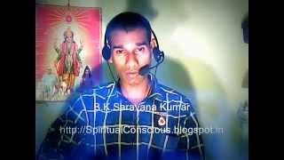 Tamil Murli sep 18, 2015 Brahmakumaris Rajayoga - B.K.Saravana Kumar