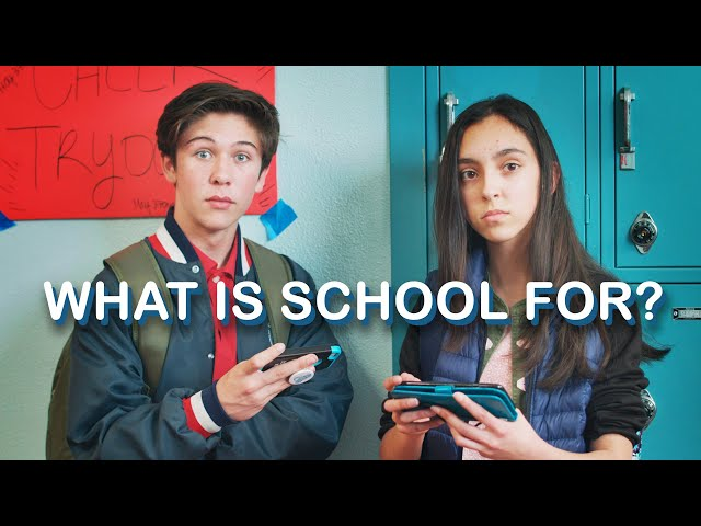 BEFORE YOU GO TO SCHOOL, WATCH THIS || WHAT IS SCHOOL FOR? - YouTube