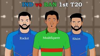 INDIa vs BANGLADESH 1st T20
