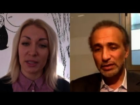 Copenhagen Attack Witness Inna Shevchenko Debates Scholar Tariq Ramadan on Religion and Free Speech