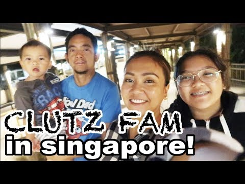 HELLO SINGAPORE! - anneclutzVLOGS