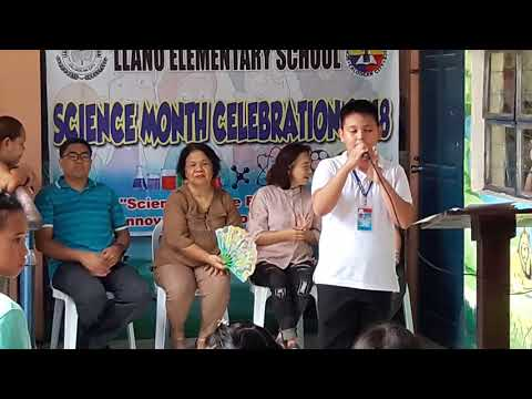 Science Month Celebration 2018 in Llano Elementary School (LES)