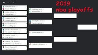 NBA playoffs. 2019. Schedule. Scores. Bracket.