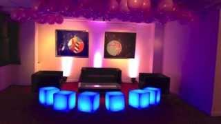 Led Furniture Hire, Led Poseur Tables, Led Cubes, Lumaform Furniture