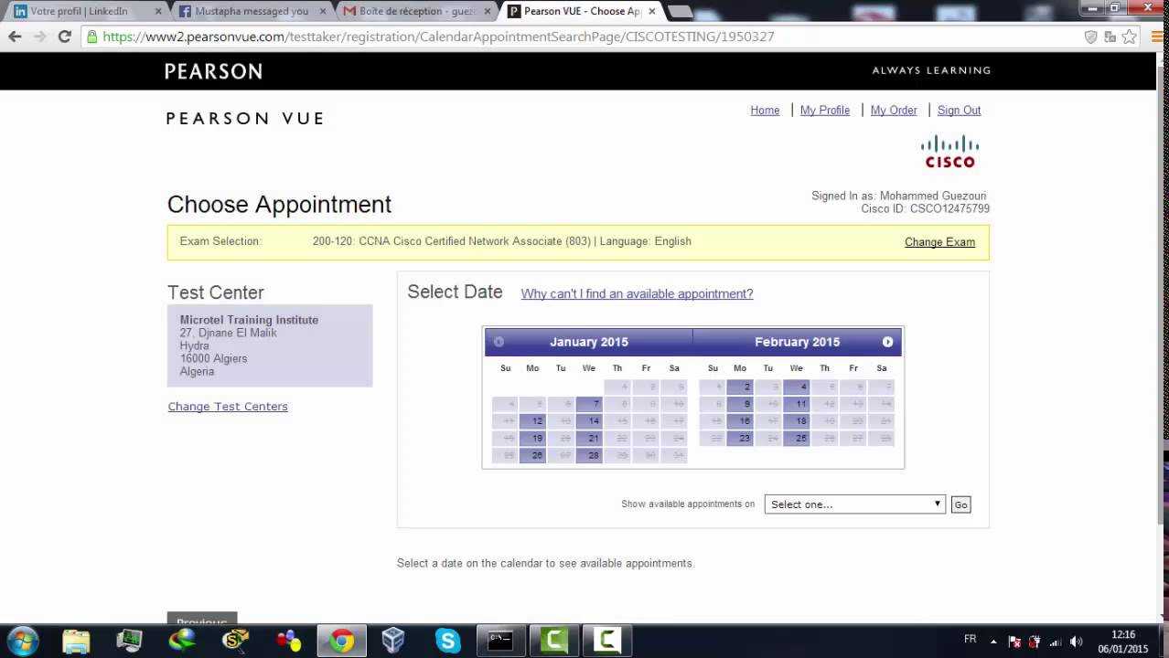 How To Pay For Cisco Exam In Pearson Vue Youtube