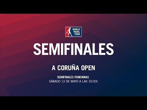 Semifinales Femeninas A Coruña Open   World Padel Tour