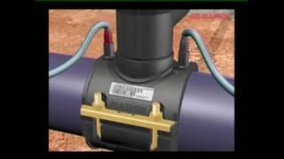 Сварка ПНД труб с электросварной муфтой