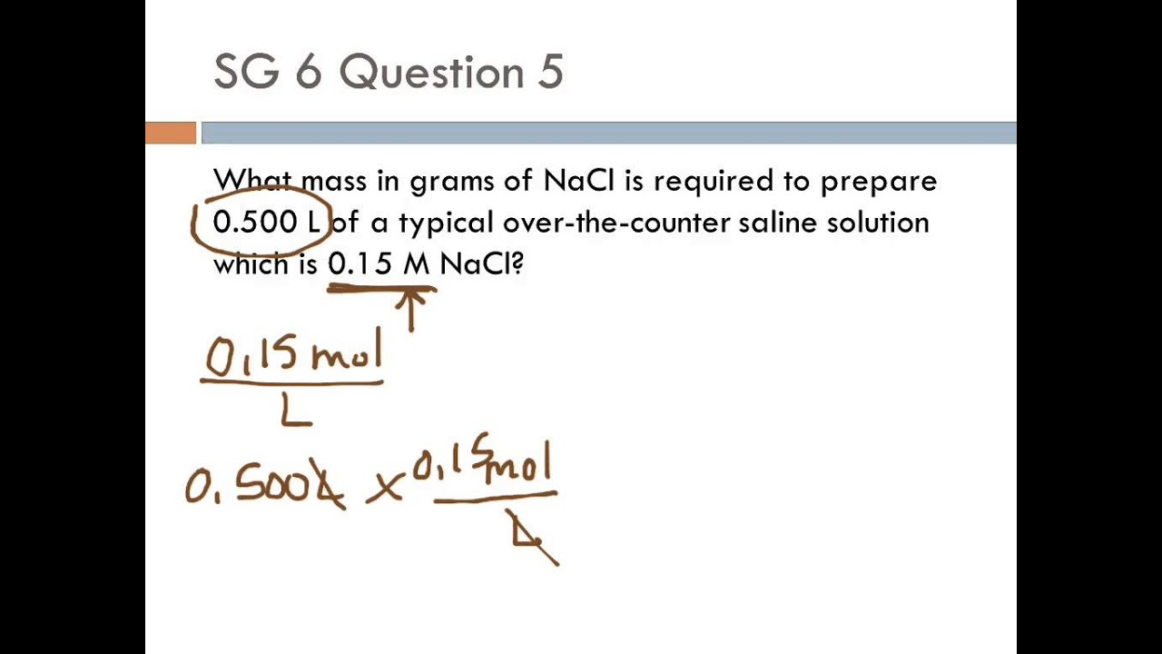 how to calculate volume of a solution given molarity and grams