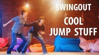 SWINGOUT COOL JUMP STUFF. Lindy hop lesson demo. swing out