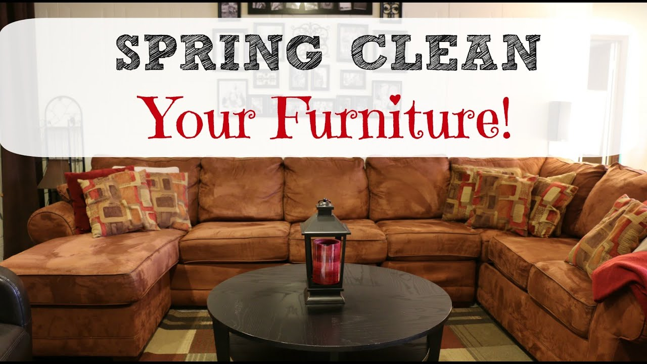 Spring Clean With Me ⚘ Furniture ⚘   YouTube