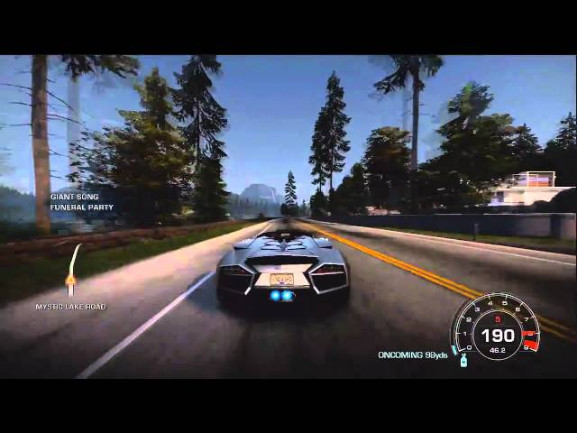 NFS HOT PURSUIT 2010 Free Drive Drifting with Reventon HD - YouTube