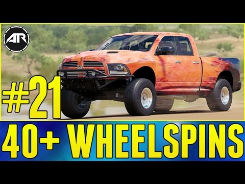 Forza Horizon 3 Let's Play : 40+ WHEEL SPINS!!! (Part 21)