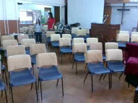New Church Seating Plan First Glance