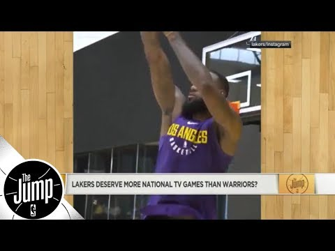 Do LeBron James-led Lakers deserve more national TV games than Warriors?   The Jump   ESPN