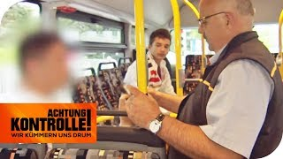Halbe Fahrkarte: Ist das Ticket des Schwarzfahrers gefälscht? | Achtung Kontrolle | kabel eins