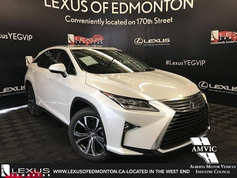 White 2017 Lexus Rx 350 Luxury Package Walkaround Review South