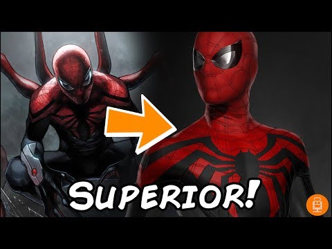 Superior Spider-Man MCU Suit Concept Art Explained