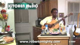 Kitchen Music: Grilled Pork Chops With Dijon Mashed Potatoes