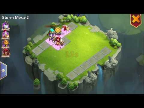Castle Clash Team Dungeons--Storm Mesa-2