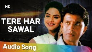 Tere Har Sawal Ka Jawab (Audio Song) | Janta Ki Adalat (1994) | Mithun Chakraborty | Gauthami