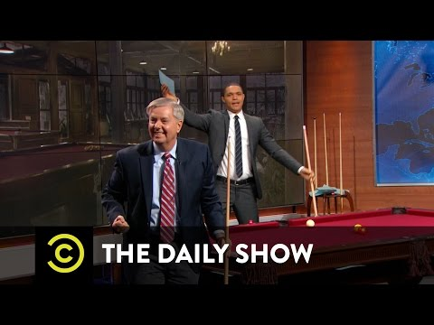 Between the Scenes - Going Deep with Lindsey Graham: The Daily Show