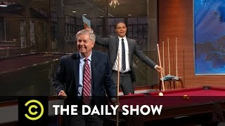 Going Deep with Lindsey Graham - Between the Scenes: The Daily Show