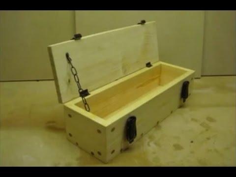 Tự làm hộp quà đẹp bằng pallet gỗ