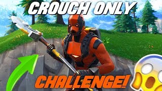 I can't do sh*t but CROUCH in Fortnite