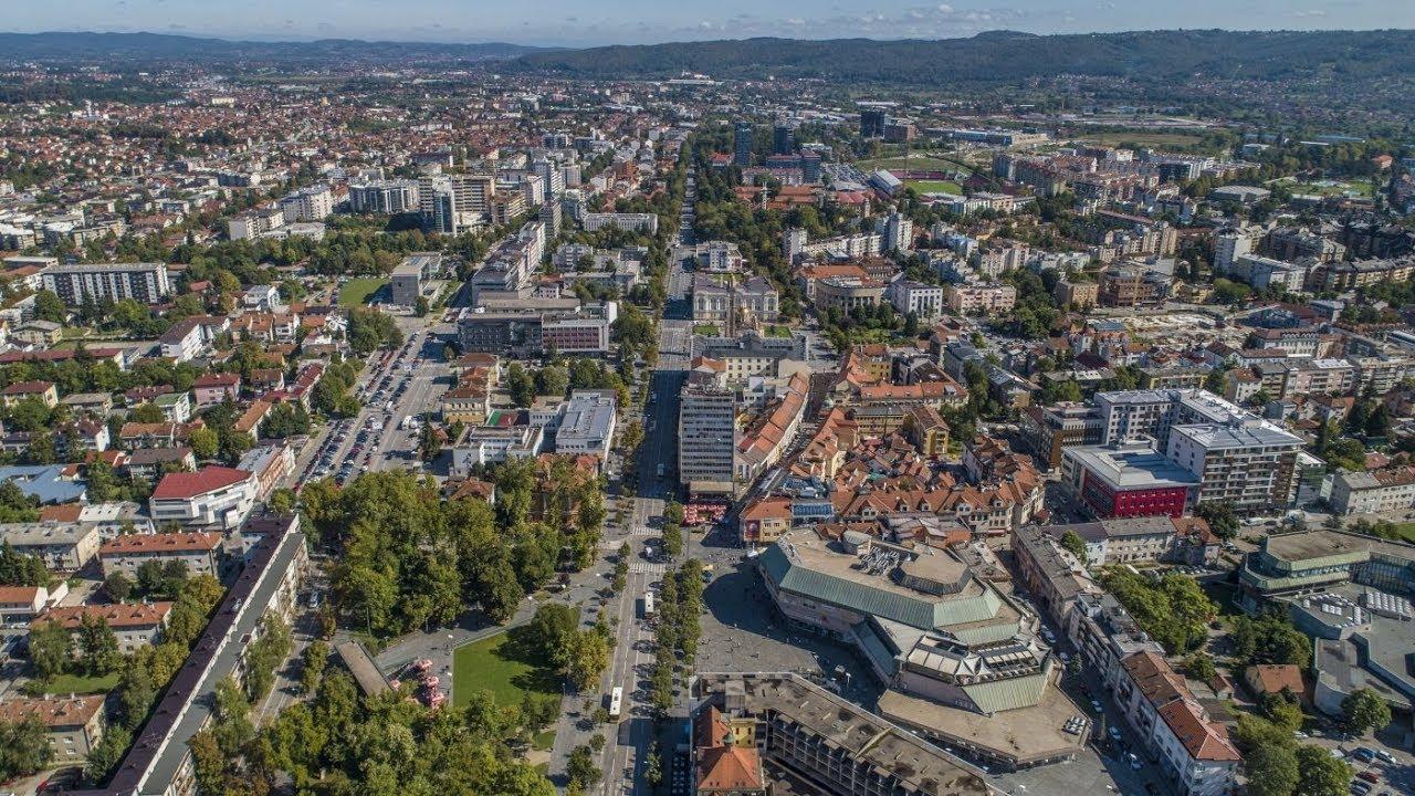 Grad Banja Luka iz zraka - Dron.ba za N1 - YouTube