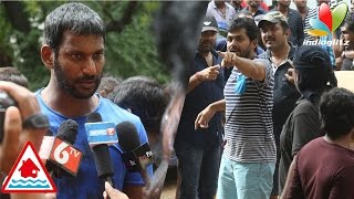 Vishal, Karthi heads Nadigar Sangam relief operations | Hot Tamil Cinema News