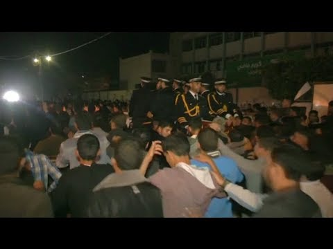 Palestinians hold funeral for Gaza lecturer killed in Malaysia