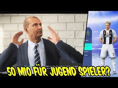 Fifa 19: 50 MIO für 72 Jugend Talent + Manager rastet aus! - Karrieremodus Juventus #27