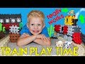 Real Steam Train Playtime - Michael- Family Fun Pack