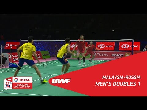 Thomas Cup | MD1 | GOH /TAN (MAS) vs IVANOV/SOZONOV (RUS) |
