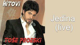 Tose Proeski - Jedina - (LIVE) - (Audio 2008)