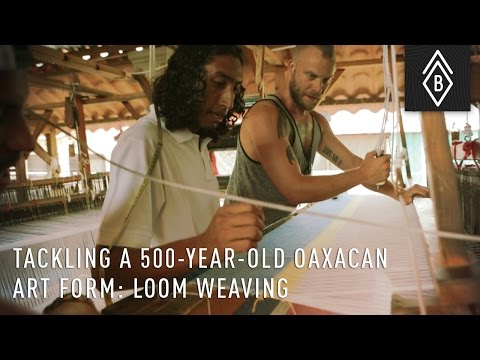 Tackling A 500-Year-Old Oaxacan Art Form: Fly Shuttle Loom Weaving