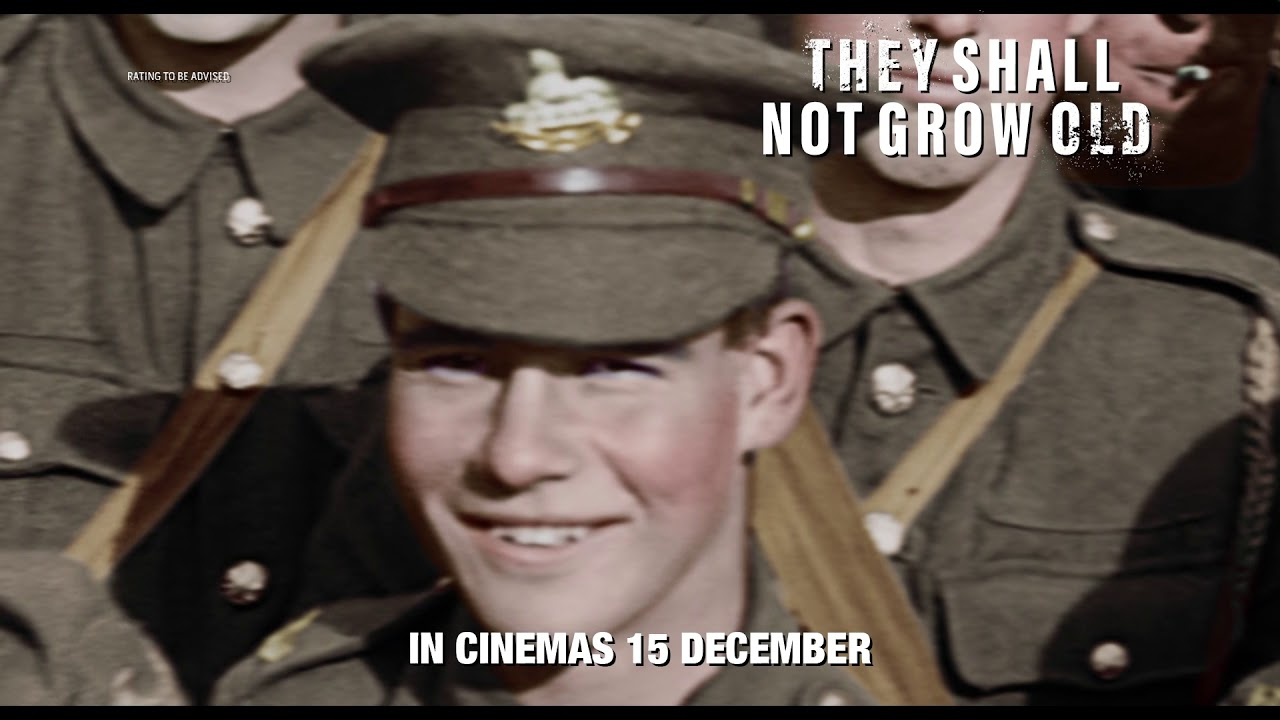 Download They Shall Not Grow Old - Official F2 Trailer [HD]