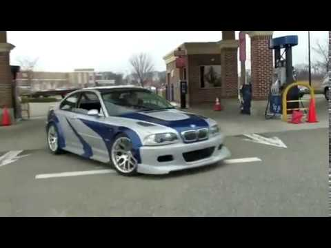Bmw M3 Nfs Most Wanted Real Life Youtube