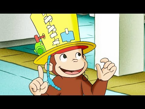 Curious George 🐵The Fully Automatic Monkey Fun Hat🐵 Kids Cartoon 🐵 Kids Movies | Videos for Kids