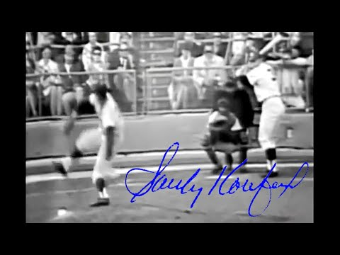 Sandy Koufax 1965 World Series Highlights