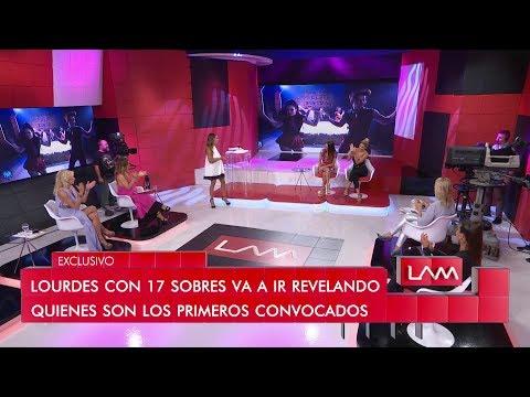 Lourdes Sánchez presentó a la primera confirmada de Bailando 2019